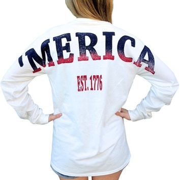 Chi Omega X 'Merica Long Sleeve
