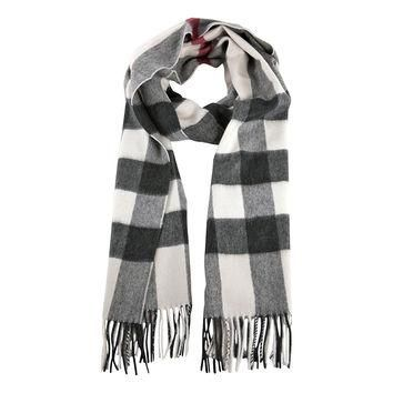 Burberry Trench Check Cashmere Scarf