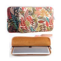 """Canvas 11 13 14 1515.6 inch Laptop Bag Notebook PC funda Sleeve Case Pouch for woman for hp macbook Air Pro sony 11.6"""" 13.3"""""""