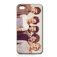 One Direction Hard Case Skin for Iphone 4 4s Iphone4 At&t Sprint Verizon Retail Packing.