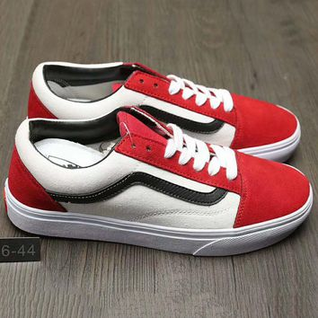 Vans Trending Casual Canvas Old Skool Flats Sneakers Sport Shoes d78cf38f2124