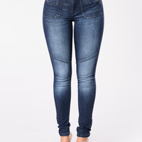 Part Of The List Jeans - Dark Blue