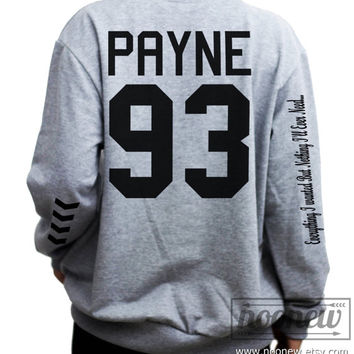 Payne 93 Tattoos Sweatshirt Sweater Crew Neck Shirt – Size S M L XL
