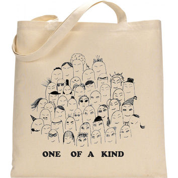 Placebo inspired One of a kind tote bag