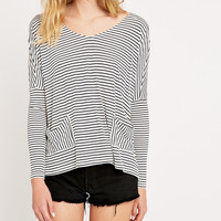 BDG Sloppy Stripe Top - Urban Outfitters