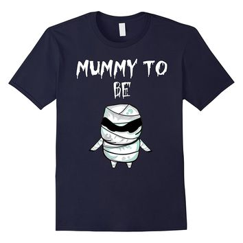 Mummy To Be Funny Halloween Maternity T-Shirt