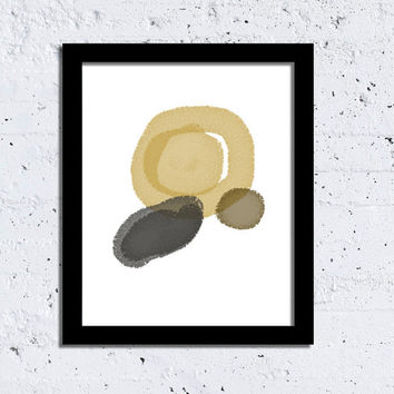 Minimalist Print Modern Print Shapes art Neutral Abstract Wall Art Wall Decor INSTANT DOWNLOAD Printable poster Downloadable Art Digital