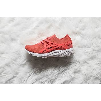 WMNS Asics Gel-Kayano Trainer Knit - Peach/Peach