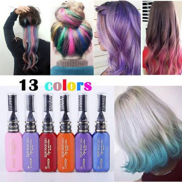 13 Colors One-time Hair Color