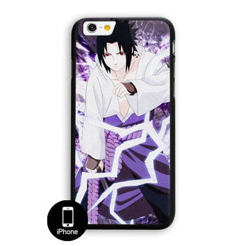 Naruto Anime Sasuke iPhone 6 Plus Case