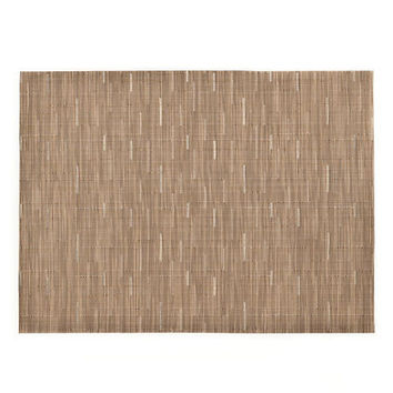 Chilewich Bamboo Rectangular Placemats S/4 | Camel