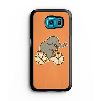 Elephant Cycle Samsung S6 s5 s4 S3 Case, Note 3 4 5 Case, iPhone 6s 5s 5c 4s Cases, iPod case, HTC case, Xperia Z3 case, LG G3 Nexus case, iPad cases