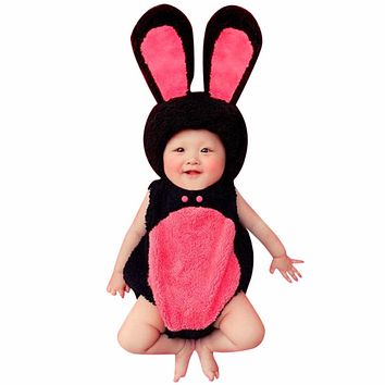 Cartoon Character Newborn Photography Props Comfortable Newborn Crochet Outfits Baby Photography Props