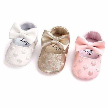 Spring Autumn PU Newborn Baby Boy Girl Baby First Walkers Soft Moccs Ballet Shoes Soft