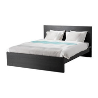 MALM Bed frame, high - Queen - IKEA