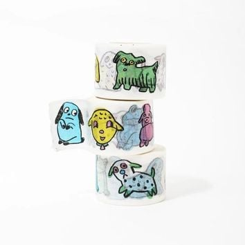Fwends Dogs Washi Tape