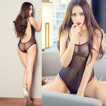 PEAPGB2 Sexy Fishnet Bodysuits Four Colors Catsuit Mesh Transparent Body Suits For Women Hollow Leotard Thong Sexy Fishnet Bodysuits