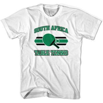 South Africa Table Tennis Youth  Cotton T-shirt