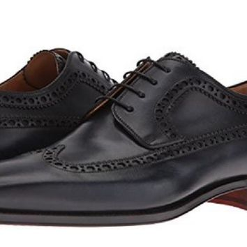 Magnanni Men's Navy Wingtip Shoes