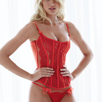 Chantilly Lace Corset - Designer Collection - Victoria's Secret