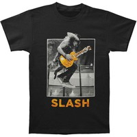 Slash Men's  Guitar Jump T-shirt Black