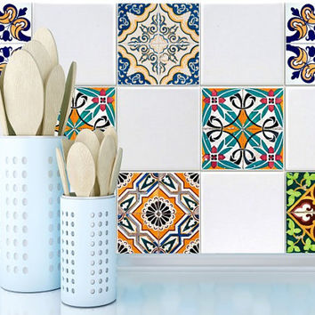 Tile Decals Stickers For Kitchen Bathroom Pack Of 20