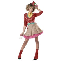 Mad Hatter Costume - Teen (Blue)