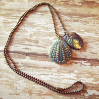 Little Mermaid Seashell Necklace