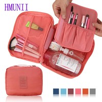 New Fashion Women Handbag Organizer Cute Make up Bags Brand HandBag Men Cosmetic Bag Travel Toiletry Bag