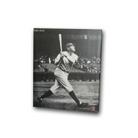 New York Yankees Babe Ruth 22x28 Hit Photo