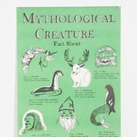 Mythological Creatures Poster