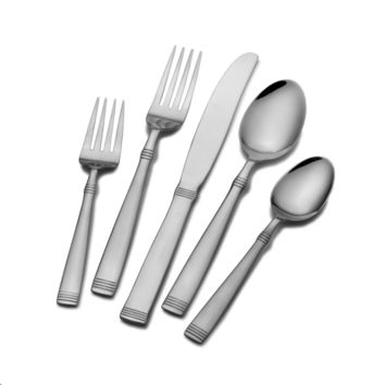 International Silver Palisade 45-piece Flatware Set | Overstock.com Shopping - The Best Deals on Flatware Sets