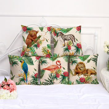 Tropical Pillow Covers 2