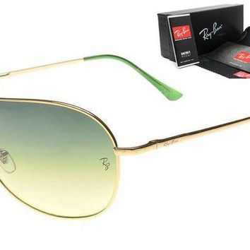 Ray Ban Fashion Women Men Personality Summer Sun Shades Eyeglasses Glasses Sunglasses 3# Green I-MYJ-YF