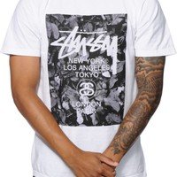 Stussy World Tour Leaves T-Shirt