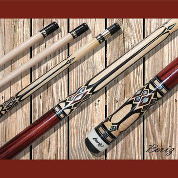 Boriz Billiards Pool Cue Stick Classic Style with Joint Protectors AB 780