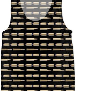 Bullets Kids Tank Top Black