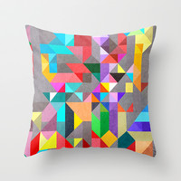 Spectre60 Throw Pillow by Three Of The Possessed