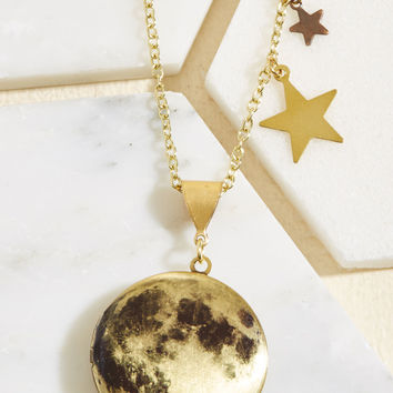 Many Moons Ago Necklace | Mod Retro Vintage Necklaces | ModCloth.com