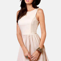 Countess of Cute Cream Dress