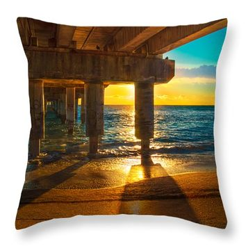 """Morning Has Broken Throw Pillow for Sale by Lynn Bauer - 14"""" x 14"""""""
