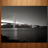 San Francisco Golden Gate Bridge Photo Art