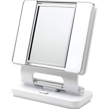 OttLite Dual Sided Makeup Mirror - White | JOANN