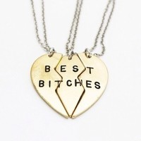 Best Bitches BFF Necklace