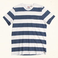 Mainland Stripe | Indigo Blue