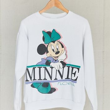 Vintage Minnie Mouse Sweatshirt - Urban Outfitters