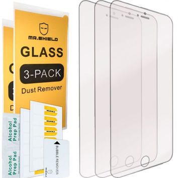 [3-PACK]-Mr Shield For iPhone 6 / iPhone 6S [Tempered Glass] Screen Protector wi