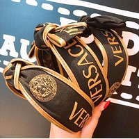 VERSACE Newest Popular Women Retro Bowknot Hair Band Head Hoop Headband Accessories