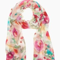 giverny floral scarf - kate spade new york