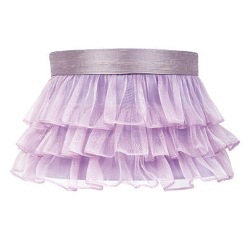 Jubilee Collection 4772 Ruffled Sheer Lavender Lamp Shade